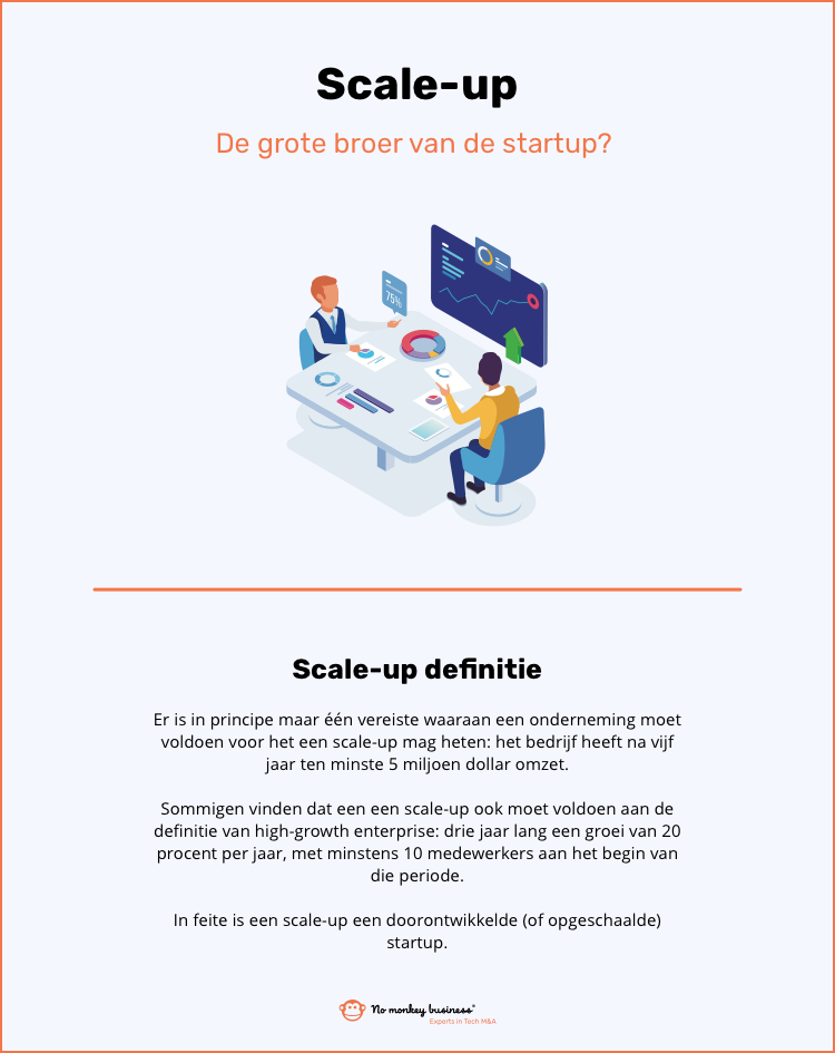 wat is een scale up